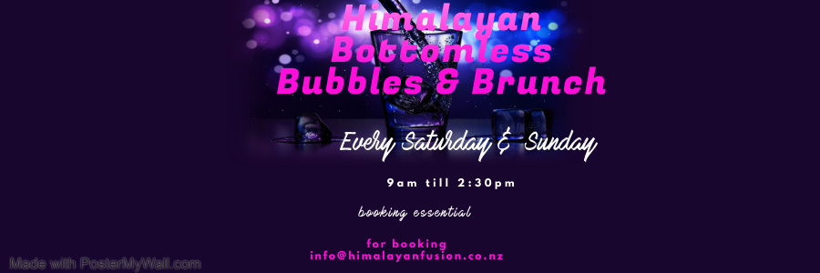 Himalayan Bottomless Bubbels And Brunch